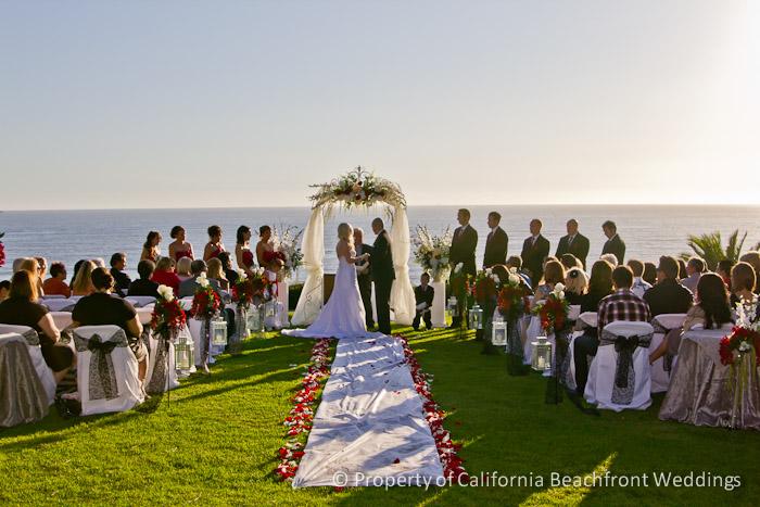 California Beachfront Weddings Southern California