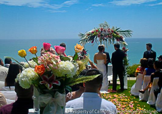 Southern california beachfront weddings orange county for Best wedding places in california